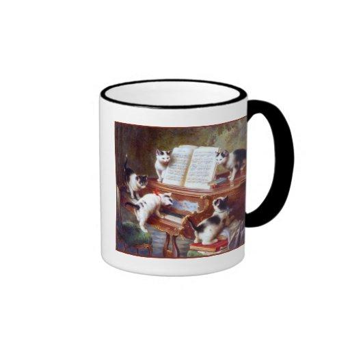 Kittens on the Keys Coffee Mug