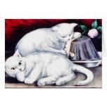 Kittens on the Table - Vintage Fine Art Card