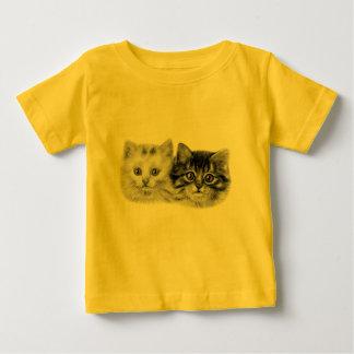 Kittens Painting Baby T-Shirt