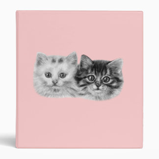 Kittens Painting Binder