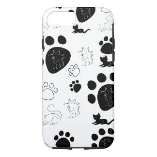 Kittens paws iPhone 7 case