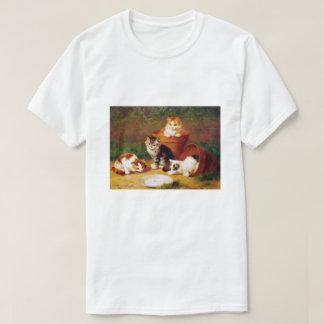 Kittens & Pots, Brunel de Neuville T-Shirt