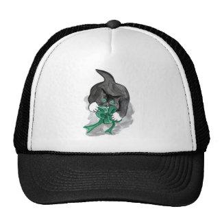 Kitten's Ribbon Hi-jinks Trucker Hat
