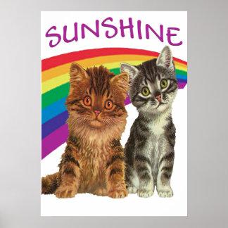 KITTENS SUNSHINE PRINT