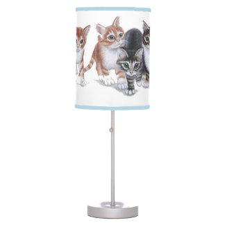 kittens Table Lamp