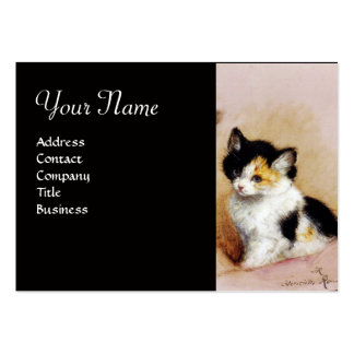 KITTENS Waking up Business Card Template