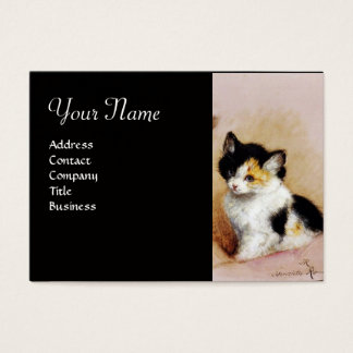 KITTENS Waking up Business Card