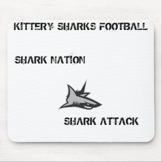 KITTERY SHARKS MOUSE PAD