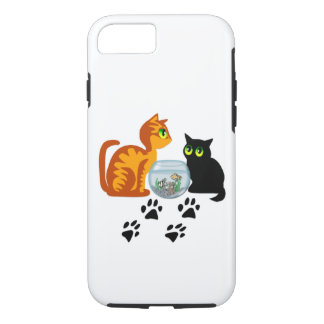 Kitties At Play iPhone 7 Case