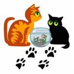 Kitties At Play Photo Cutouts