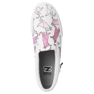 Kitties everywhere! Slip-On sneakers