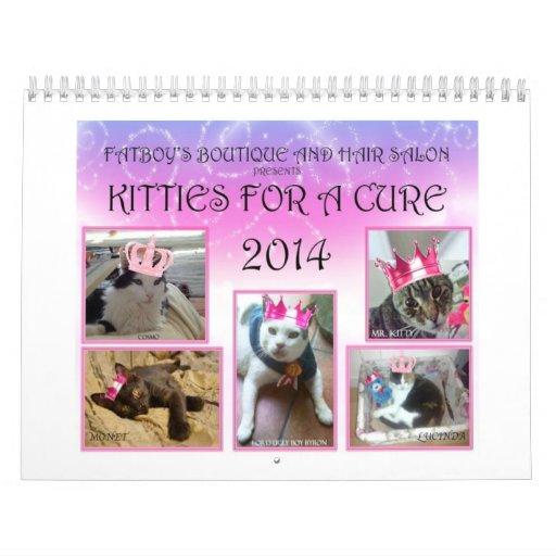 KITTIES FOR A CURE CALENDAR 2 2014