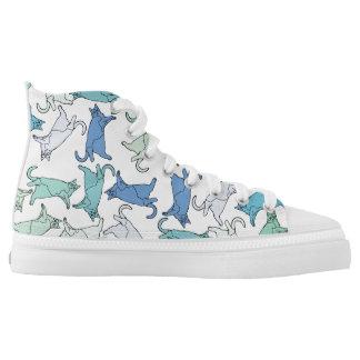 Kitties, kitties, kitties High-Top sneakers