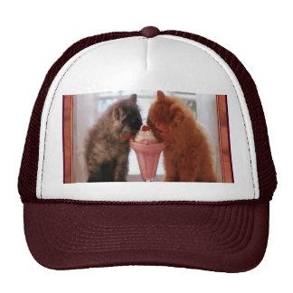 Kitties Snack Time Cap Trucker Hat