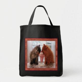 Kitties Snack Time Tote Bag