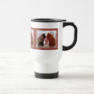 Kitties Snack Time Travel Mug