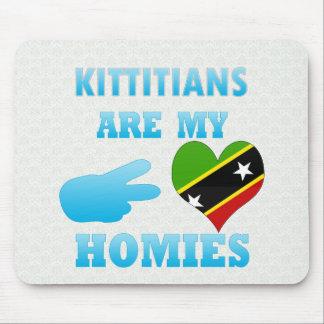Kittitians es mi Homies Tapete De Ratón