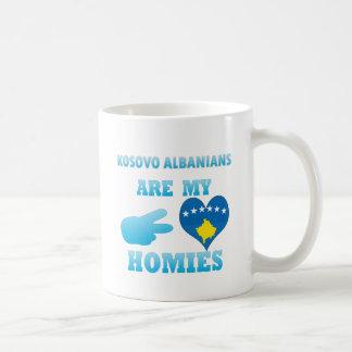 Kittitians es mi Homies Taza Básica Blanca