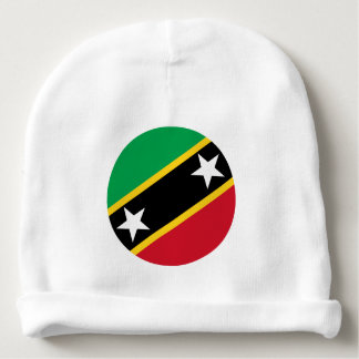 Kitts and Nevis Flag Baby Beanie