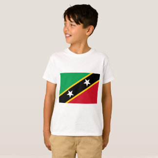 Kitts and Nevis Flag T-Shirt