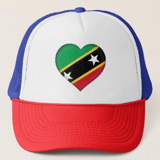 Kitts and Nevis Flag Trucker Hat