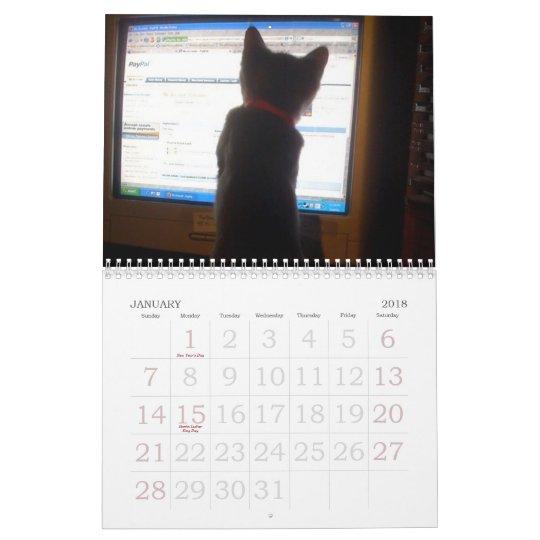 kittty calendar