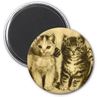 Kitty 2 Inch Round Magnet