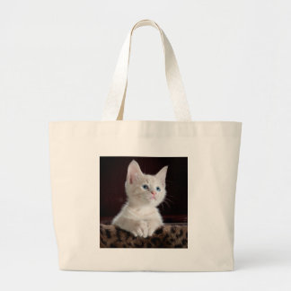 Kitty-6 Large Tote Bag