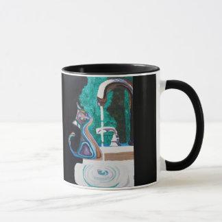 Kitty Abstracted Mug
