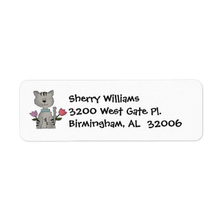 Kitty Address Labels
