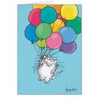 KITTY ALOFT Birthday Card