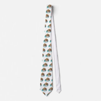 Kitty and Mice are Bookworms Neck Tie