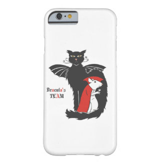 Kitty and mouse vampires barely there iPhone 6 case