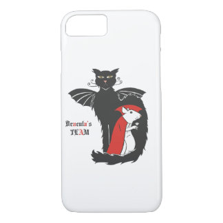 Kitty and mouse vampires iPhone 7 case