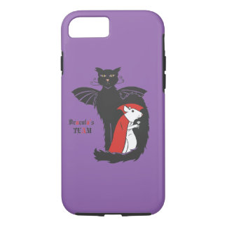 Kitty and mouse vampires iPhone 8/7 case