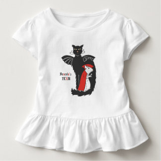 Kitty and mouse vampires toddler t-shirt