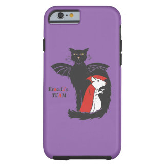 Kitty and mouse vampires tough iPhone 6 case