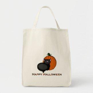 Kitty and Pumpkin Halloween Bag bag