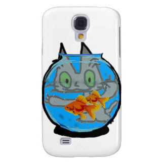 Kitty And The Fish Tank HTC Vivid Cover