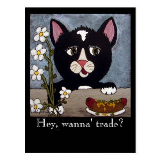 Kitty  ~  Any Occasion Postcard