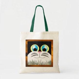 Kitty Budget Tote Bag