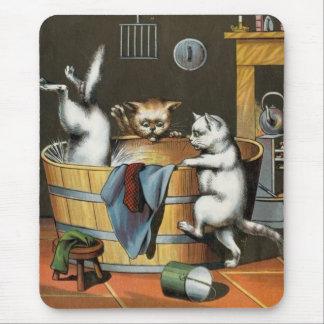 Kitty Bath Mouse Pad