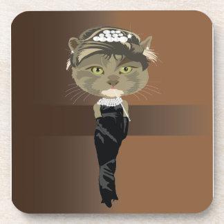 Kitty Beverage Coaster