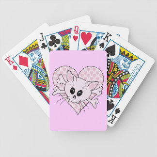 Kitty Bones Bicycle Playing Cards