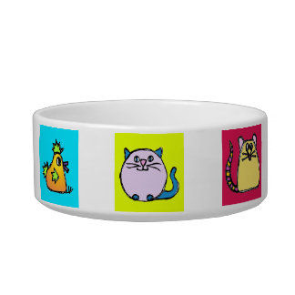 kitty bowl - characters