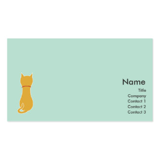 Kitty - Business Double-Sided Standard Business Cards (Pack Of 100)