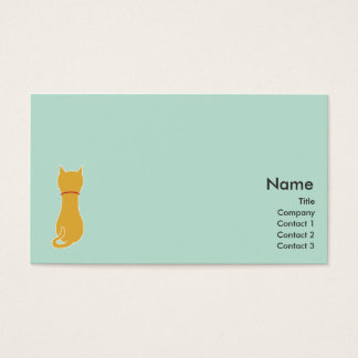 Kitty - Business Business Card