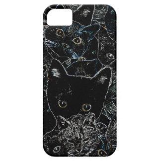 Kitty Cat Art iPhone 5 Cases