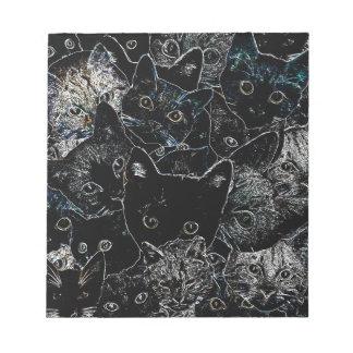 Kitty Cat Art Notepad