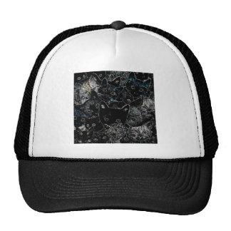 Kitty Cat Art Trucker Hat